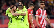 مباراة برشلونة وجيرونا