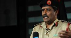اللواء أحمد المسمارى المتحدث باسم الجيش الليبى