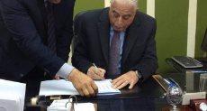 محافظ جنوب سيناء يعتمد النتيجة