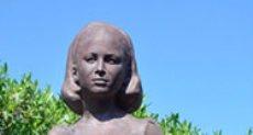 تمثال فاتن حمامة