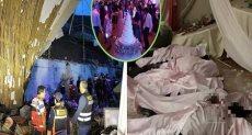 حفل زفاف يتحول الى فيلم رعب فى بيرو
