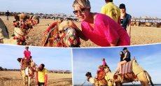 بوب مارلى وأوسكار سفينتا صحراء ينشطان السياحة على ساحل البحر الأحمر