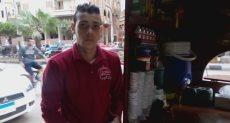 أحمد  فى الكافيه المتنقل