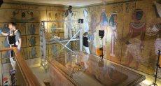 مقبرة توت عنخ آمون بالأقصر
