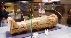 مجسمات للمكفوفين بمتحف الآثار فى الإسكندرية