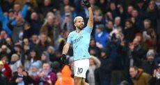 أجويرو يزاحم على لقب هدافي الدوري الانجليزي 2019