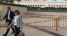 جانب من وصول الوفود لمسجد زايد