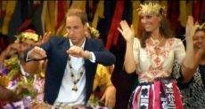 الأمير وليام وزوجته