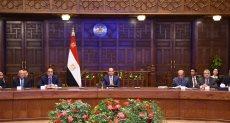 جانب من لقاء الرئيس بقيادات بورسعيد