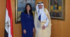 وزيرة السياحة والأمين العام لمنظمة التعاون الإسلامى
