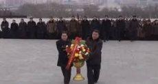 جانب من احتفال كوريا الشمالية برأس السنة القمرية