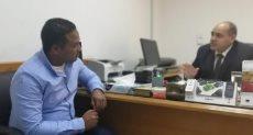 نادر عبد الظاهر رئيس فرع تنمية المشروعات الصغيرة والمتوسطة بالبحر الأحمر