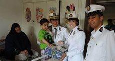 زيارة طلاب الشرطة لمعهد الأورام