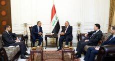 رئيس وزراء العراق يستقبل سفير مصر فى بغداد