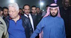 تركي آل الشيخ و مرتضي منصور