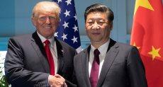 دونالد ترامب وشي جين بينج