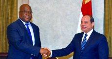 الرئيس السيسي ورئيس الكونغو الديمقراطية