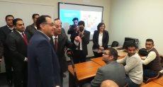 رئيس الوزراء فى أكاديمية النقل البحرى بأكاديمية اسوان