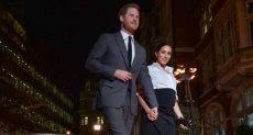 الأمير هارى وزوجته ميجان