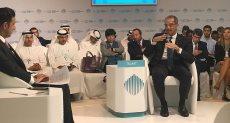 وزير الاتصالات خلال كلمته بالمؤتمر