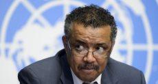 المدير العام لمنظمة الصحة العالمية تيدروس أدهانوم