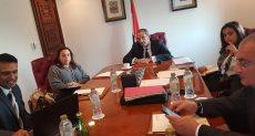 وزير الاتصالات خلال اجتماعه مع ممثلي IDC
