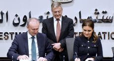 الوزيرة سحر نصر خلال توقيع الاتفاقية