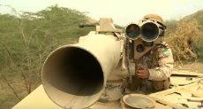 سلاح التاو فى اليمن