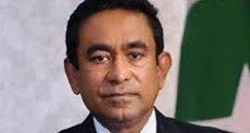 الرئيس السابق يمين عبد القيوم