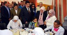 الدكتورة سهير عبد الحميد، رئيس هيئة التأمين الصحي