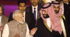 ولى العهد السعودى الأمير محمد بن سلمان ورئيس وزراء الهند