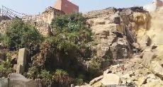 انهيار صخرة منشأة ناصر: