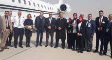 أول رحلة من مطار أثينا