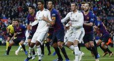 الريال ضد برشلونة