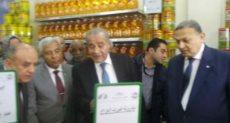 وزير التموين يفتتح أكبر مجمع سلع استهلاكية بالصعيد