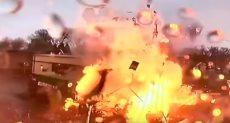 انفجار مقهى