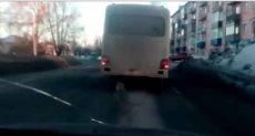 حافلة بدون اطارات