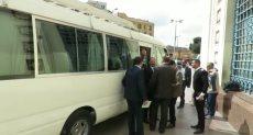 وصول وفد لجنة النقل بالبرلمان