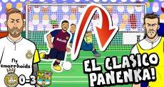 جزء من الفيديو الساخر من هزيمة ريال مدريد فى الكلاسيكو الأخير