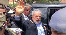 لولا دا سيلفا يغادر السجن لحضور جنازة حفيده