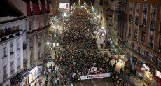 مظاهرات فى صربيا