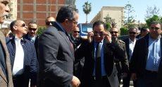 الدكتور خالد عنانى وزير الآثار