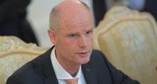 وزير الخارجية الهولندى ستيف بلوك
