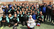محافظ المنوفية يفتتح دوري مراكز الشباب لذوى الإعاقة السمعية