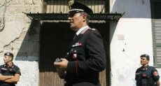 الشرطة أمام زعيم المافيا