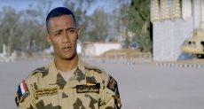 محمد رمضان بلبس الجيش