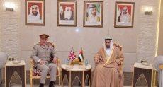 وكيل وزارة الدفاع الإماراتي ورئيس الأركان البريطاني