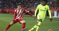 جزء من مباراة برشلونة وجيرونا