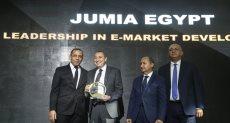 جوميا مصر تفوز بجائزة القيادة في تطوير السوق الإلكتروني