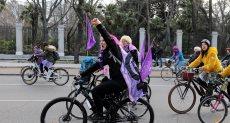 جانب من احتفالات اليوم العالمي للمرأة